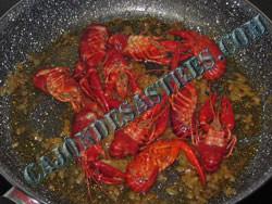 receta cangrejos en salsa picante