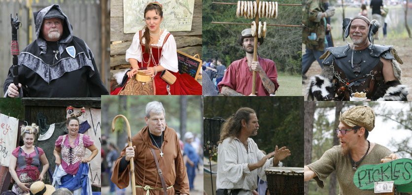 Attend a Renaissance Festival! Step back in time, to the 15th century and have a conversation with a maiden, a monk and a vendor selling pickles.