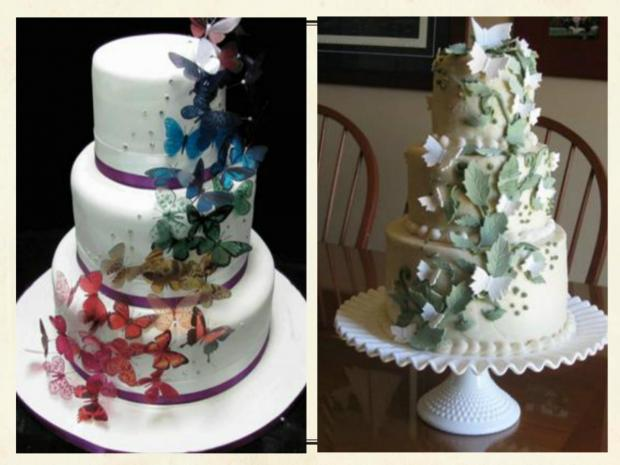 Butterfly Wedding Cakes   http   www cake decorating corner com  butterfly wedding cakes