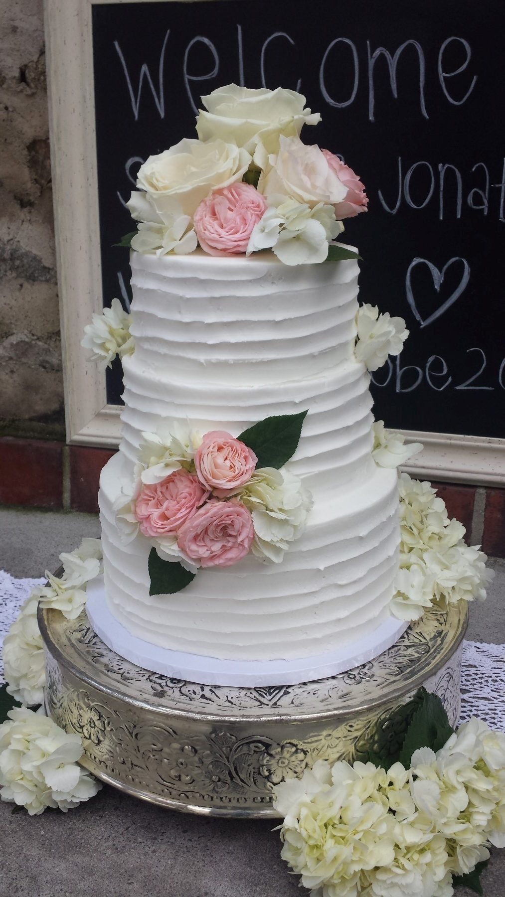 Elegant Wedding Cakes By Cake Among Us Bakery Amp Donuts