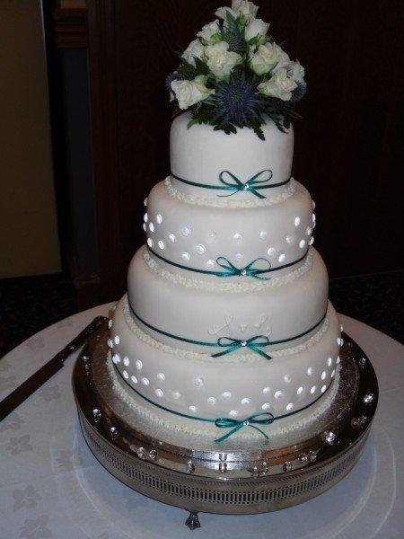 Edible Jewels Wedding Cakes