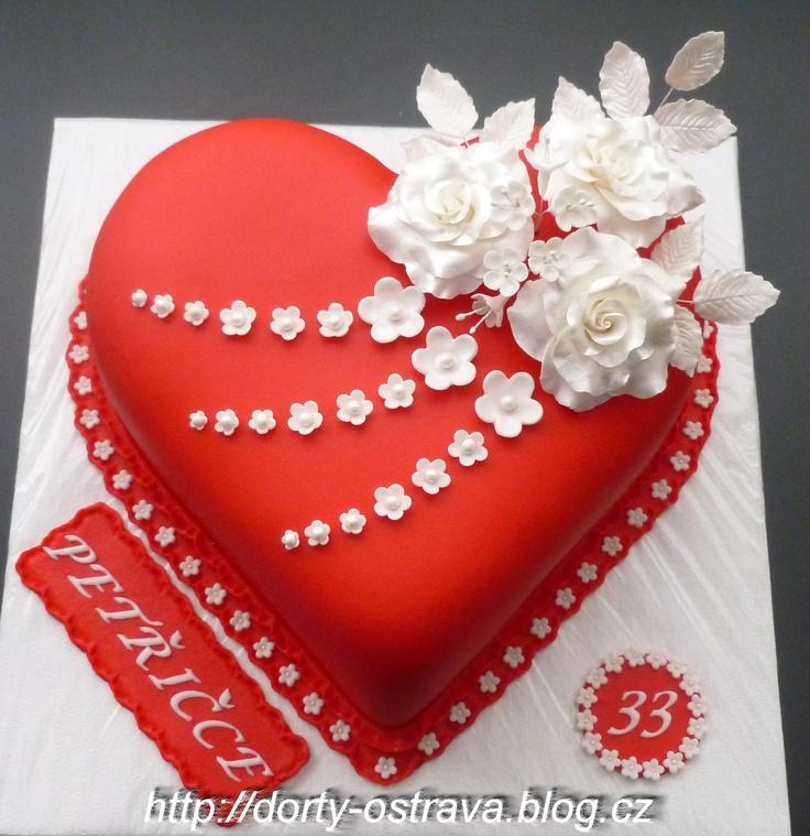 Heart Birthday Cakes