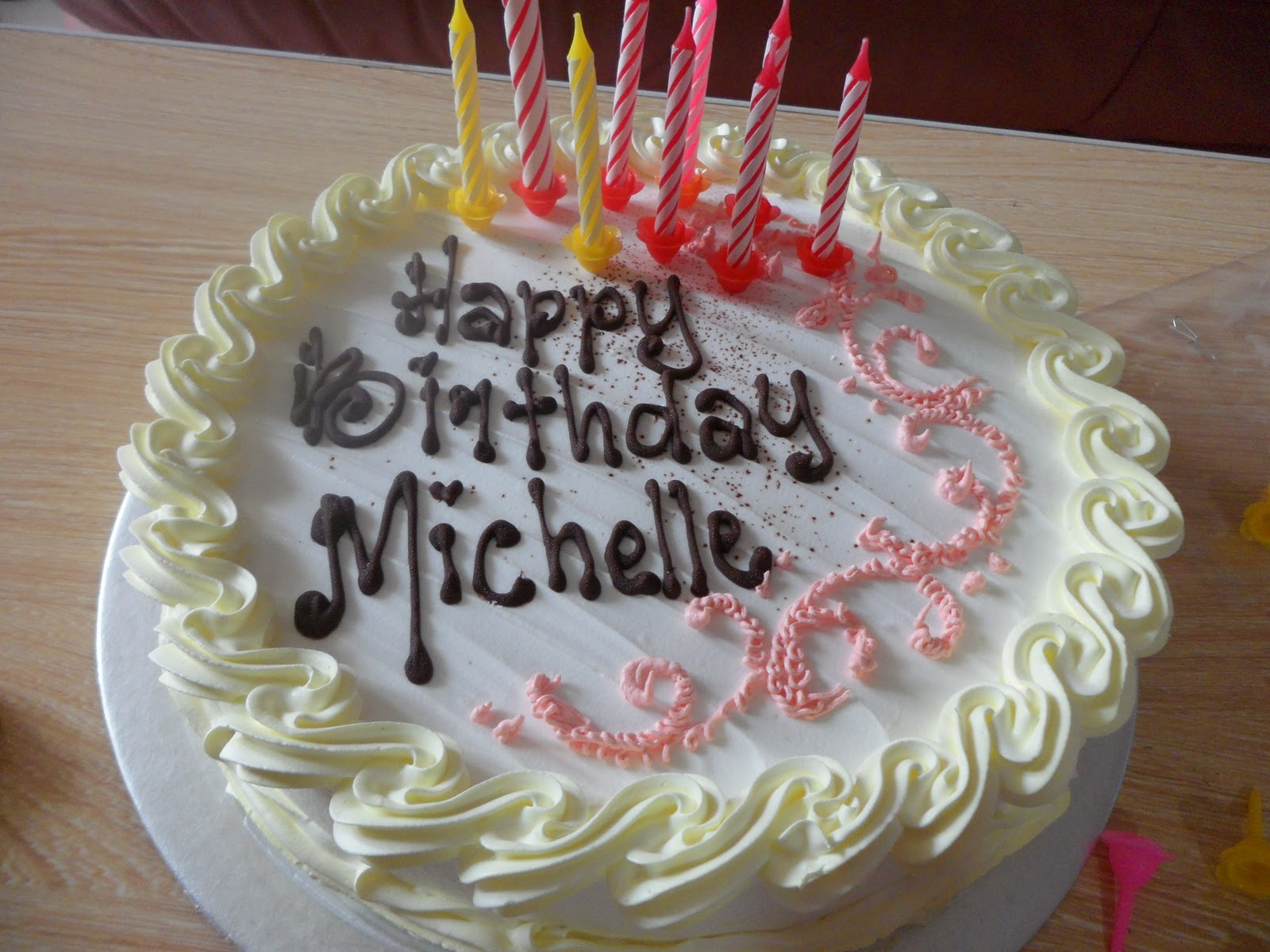 Michelle Birthday Cakes