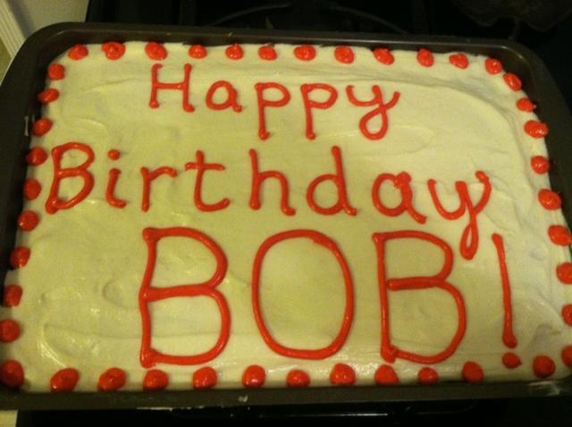 Bob Birthday Cakes