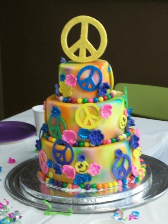 Hippy Birthday Cakes