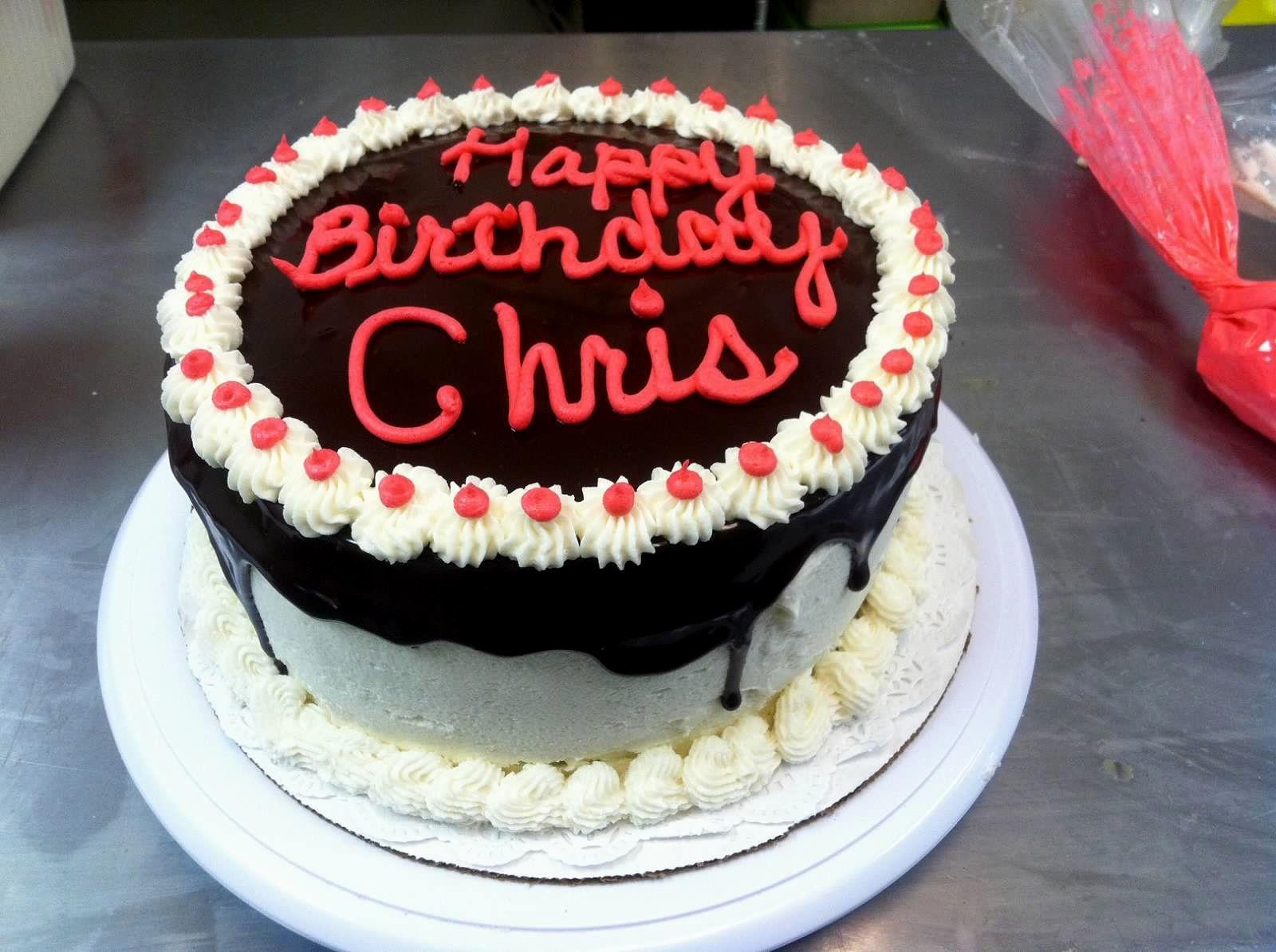 Cake Happy Birthday Chris Cake Images