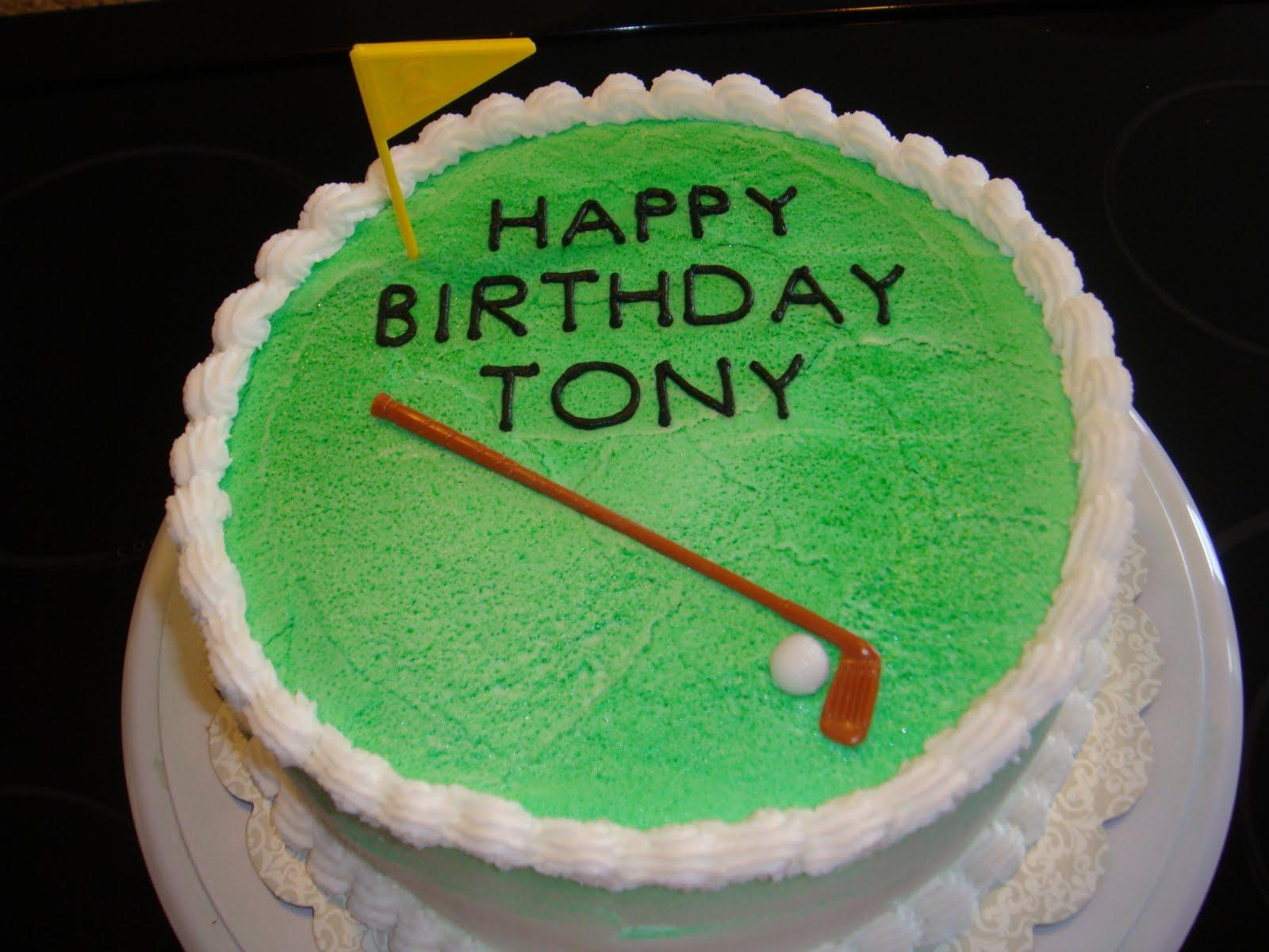 Tony Birthday Cakes