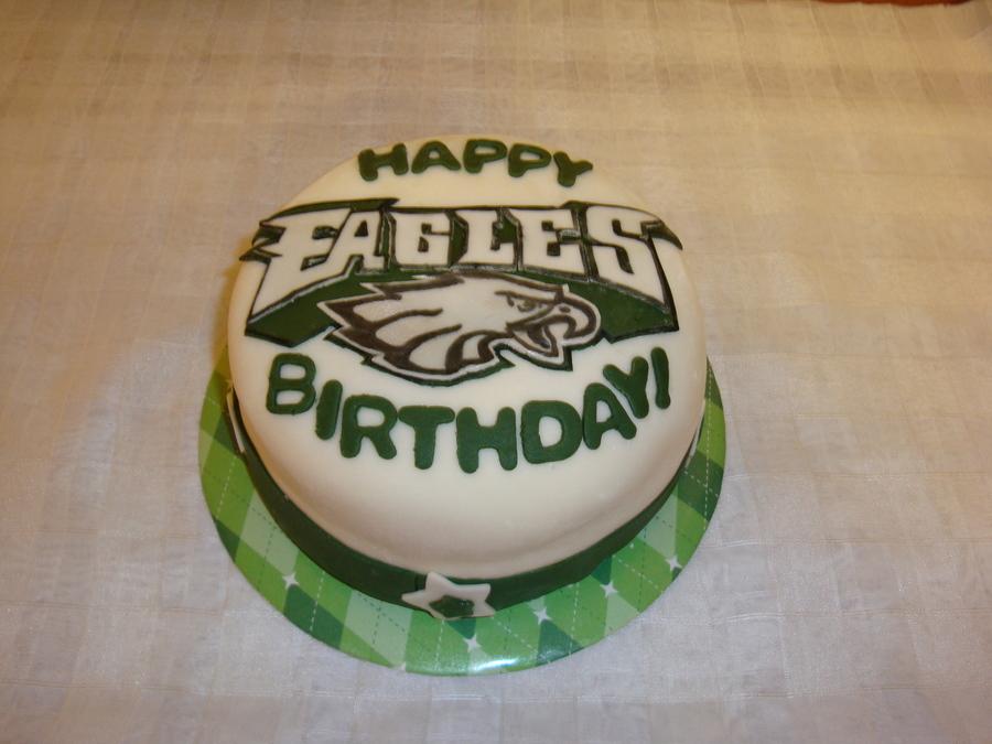 Philadelphia Eagles Birthday Cake Photos
