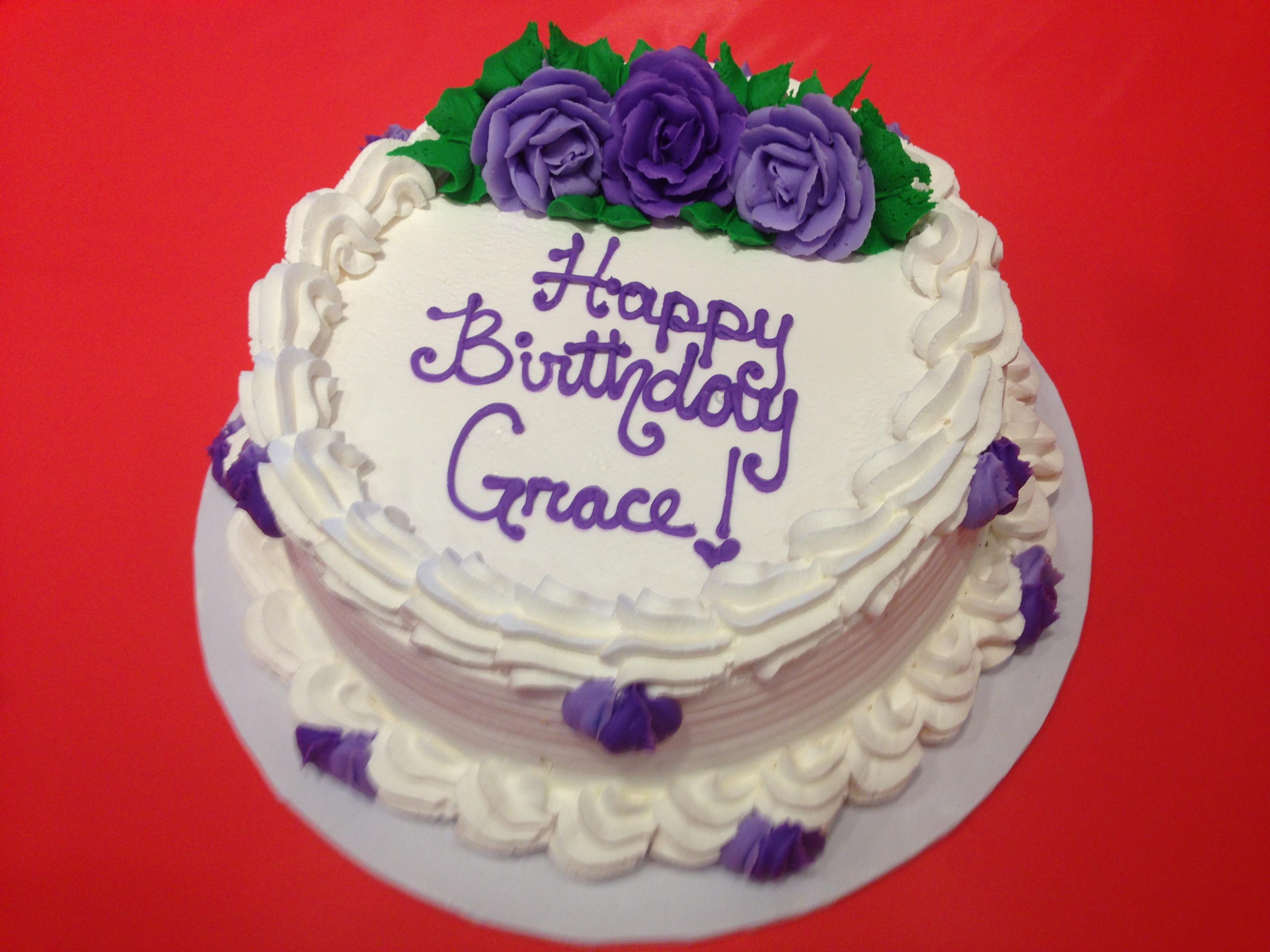 Buttercream Birthday Cakes