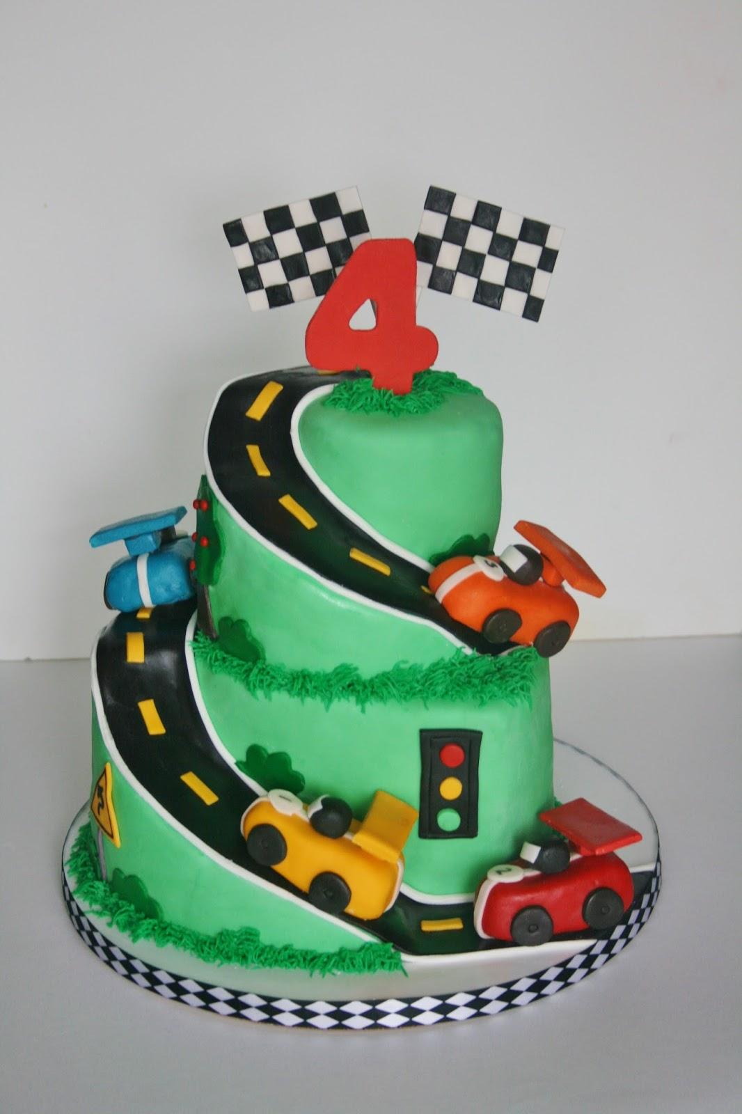 Racing Birthday Cakes