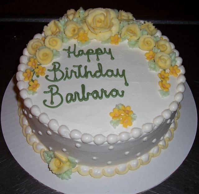Barbara Birthday Cakes
