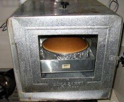 Oven Tangkring dengan Japanesse Cheese Cake dengan metode au bain marie