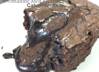 Ovomaltine Melt Brownies - Cakefever.com