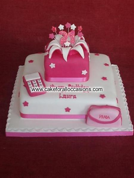 Cake L134 Womens Birthday Cakes Birthday Cakes