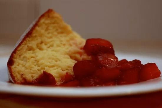 Risultati immagini per immagine tortine al cointreau e fragole