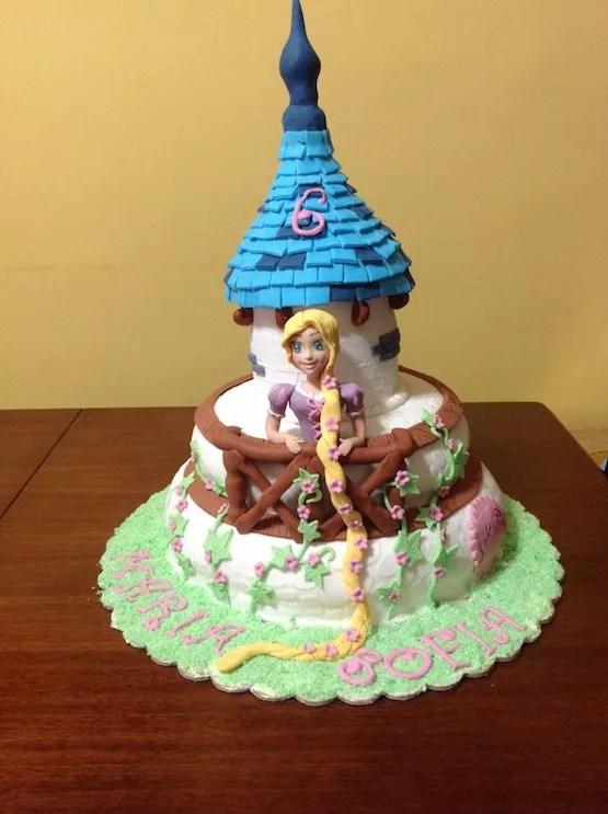 Torta Rapunzel Cakemania Dolci E Cake Design