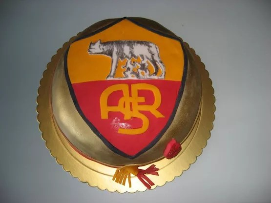 Le Torte Per I Tifosi Della Roma Cakemania Dolci E Cake