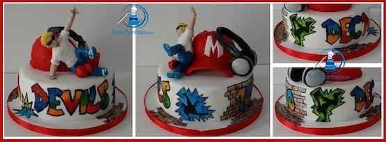 Torte Hip Hop Cakemania Dolci E Cake Design