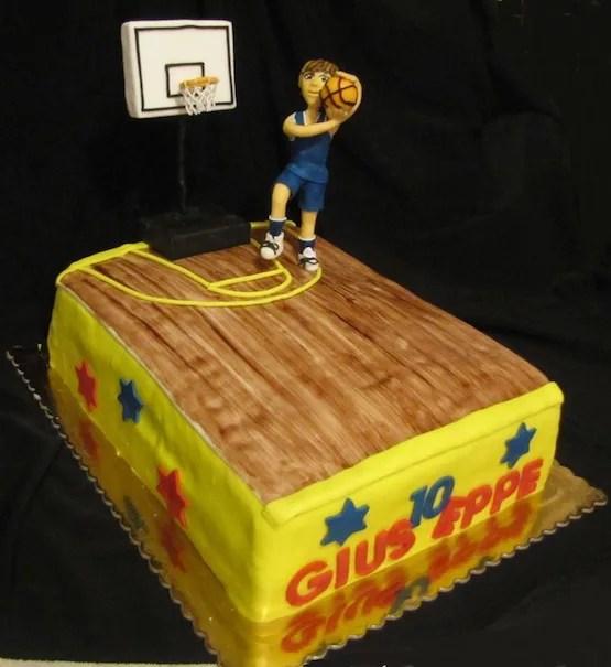 Torte Pallacanestro Cakemania Dolci E Cake Design