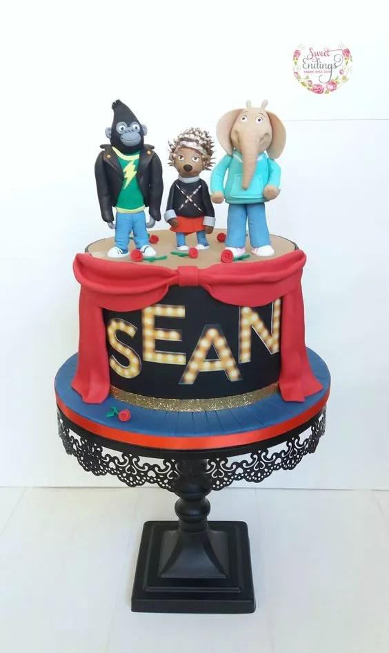 Torte Decorate A Tema Sing Il Film Danimazione