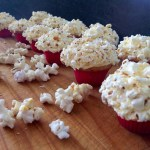 Salted Popcorn Cupcakes