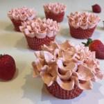 Fresh Strawberry Cupcakes