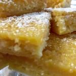 Gooey Lemon Bars