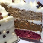 Beetroot Carrot Parsnip Layer Cake