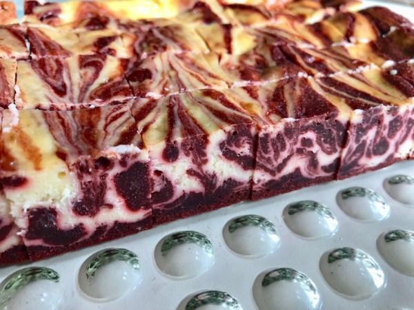 Red Velvet Cheesecake Brownie
