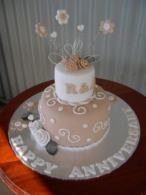 Trendy Wedding Anniversary Cake Photojpg 3 Comments Hi