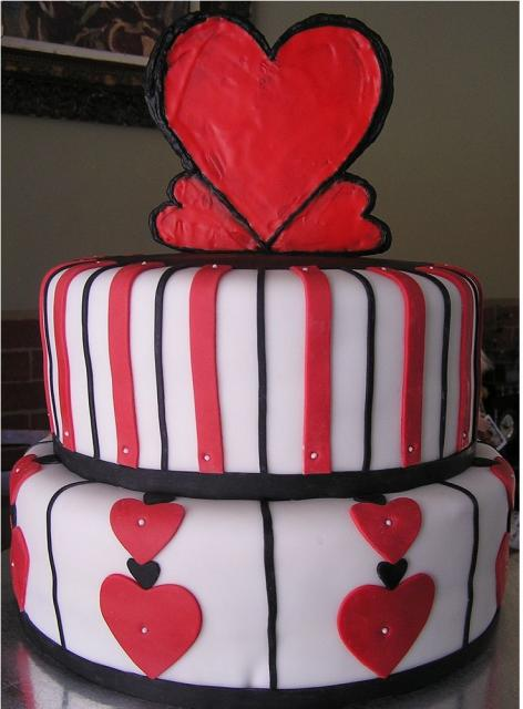 Photo Of Valentine Birthday Cakes Jpg 1 Comment Hi Res