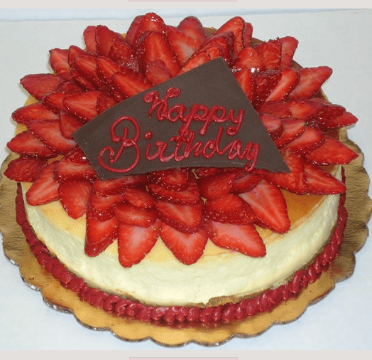 Strawberries Birthday Cake Picture Png 3 Comments