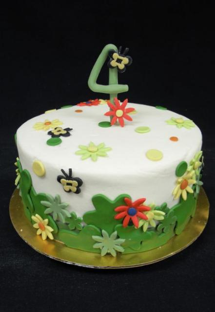 Happy Birthday Cake Year Old