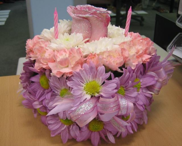 Flower Theme Birthday Cake Jpg 1 Comment Hi Res 720p Hd