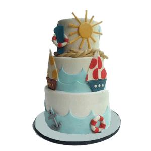 Boats Carnival Cake