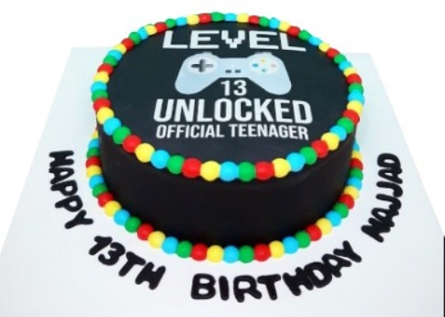 13th Birthday Cake For Boys