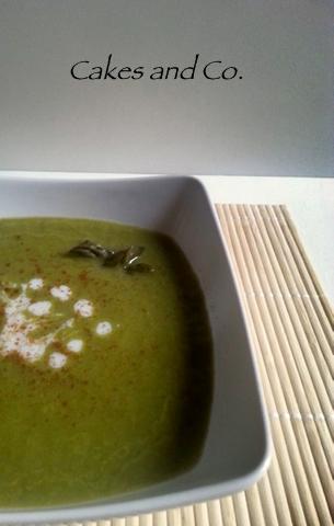 Vellutata di asparagi al profumo di cannella