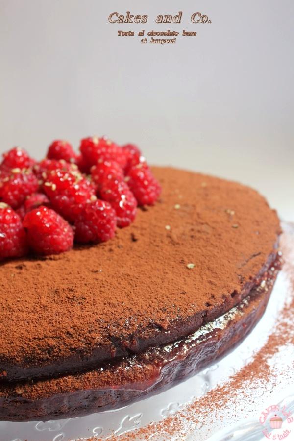 Torta al cioccolato base vegIMG_1422