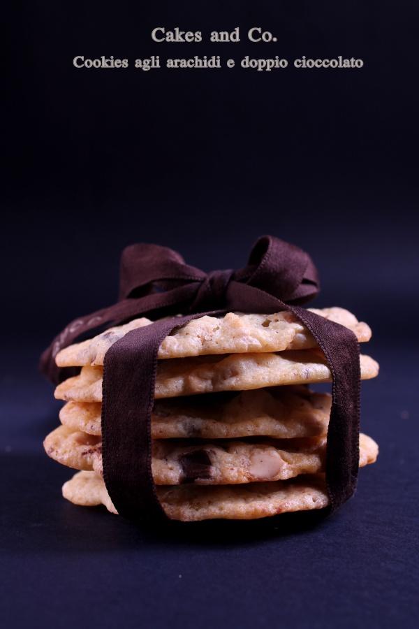 Cookies agli arachidi e doppio cioccolatoIMG_0209