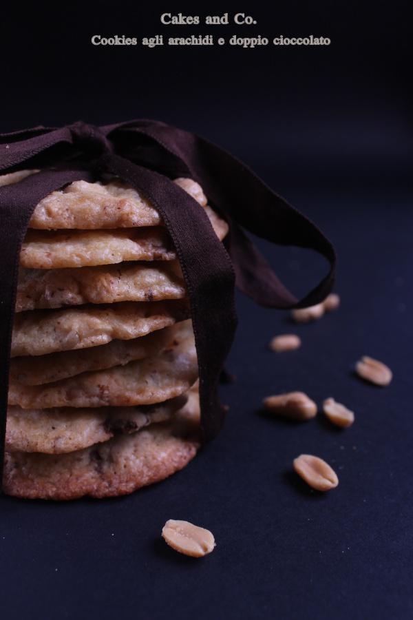 Cookies agli arachidi e doppio cioccolatoIMG_0216