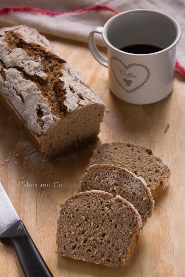 Pane alla segale (tipo pan bauletto)