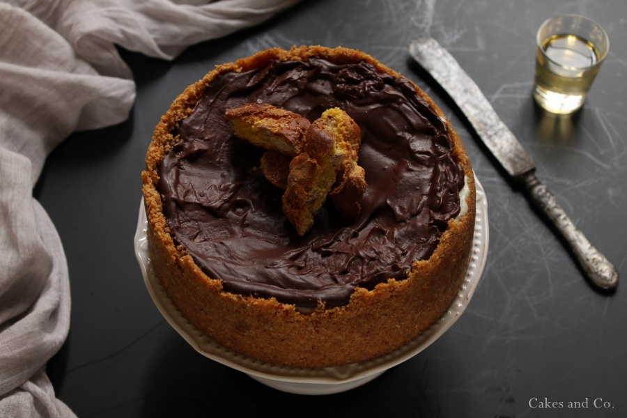 Vermouth chocolate cake