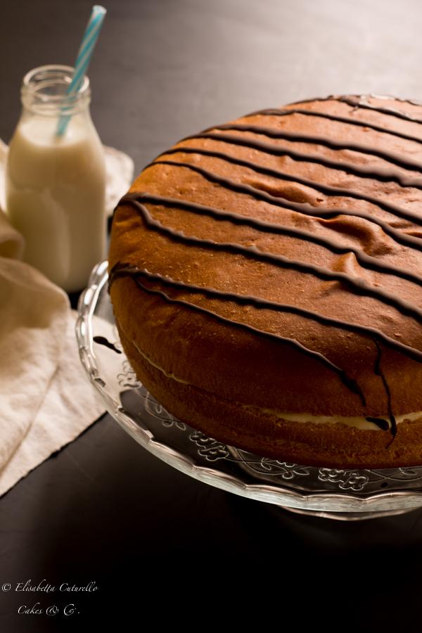 Torta Brioss al latte per Cakes lab