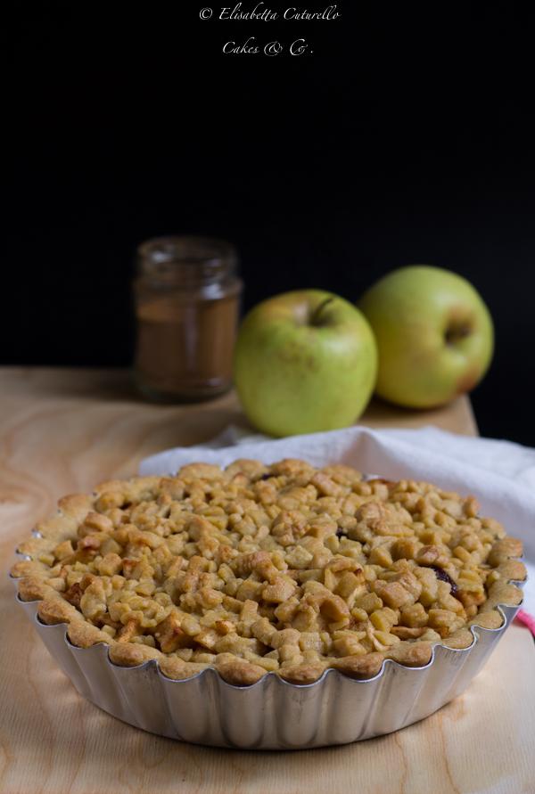 Olandese Torta di mele cannella e uvetta per Cakes Lab