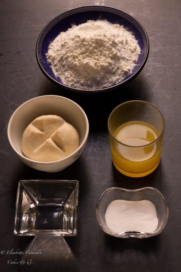 Schiacciata alla fiorentina con pasta madre ingredienti primo impasto