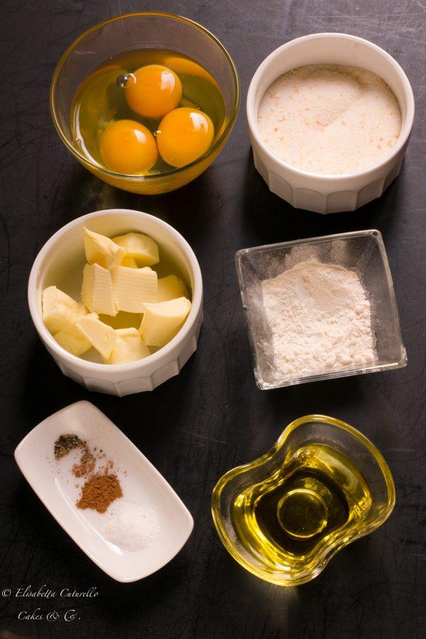 Schiacciata alla fiorentina con pasta madre ingredienti secondo impasto