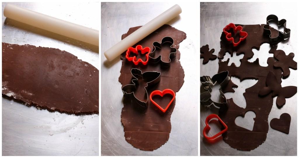 Il cioccolato plastico l'alternativa alla pasta di zucchero, creazione formine