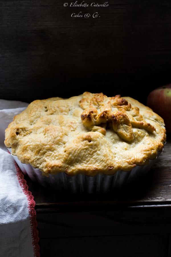 Infornate la torta, dopo 15 minuti abbassate la temperatura del forno a 180° e continuate la cottura della torta per altri 45 minuti. Lasciate intiepidire la torta per 15 / 20 minuti prima di servirla.