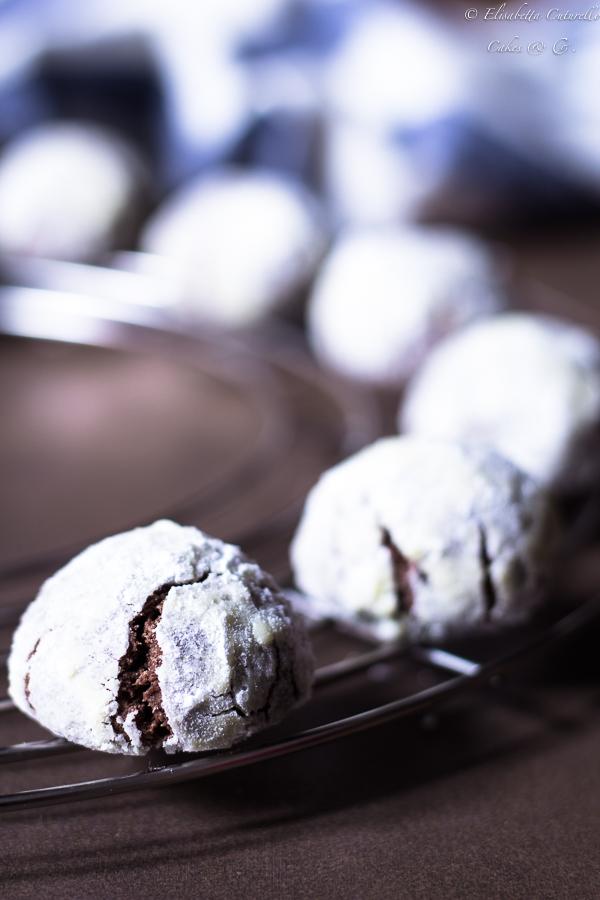 Biscotti al cioccolato fondente e scorza d'arancia