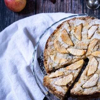 Torta di pane e mele